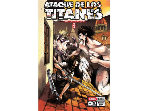 ATTACK ON TITAN N.8