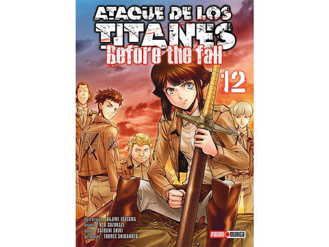 ATTACK ON TITAN BEFORE THE FALL N.12