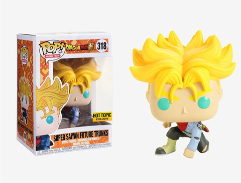 Funko Super Saiyan Future Trunks 318 Hot Topic
