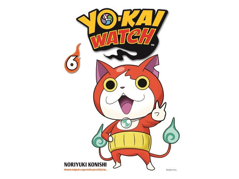 YOKAI WATCH N.6