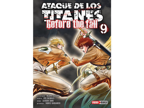 ATTACK ON TITAN BEFORE THE FALL N.9