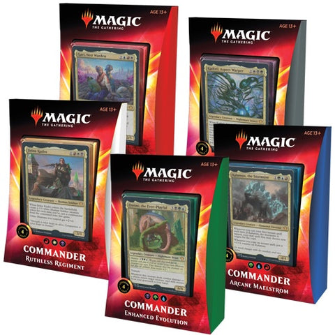 Magic the Gathering Ikoria: Mundo de Behemoths - Mazos de Commander ( Español ) 1 pza