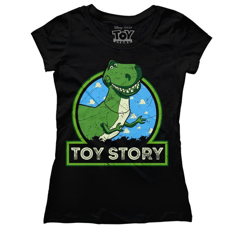 Mujer Toy Story Rex negro M