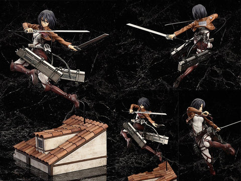 Good Smile Attack on Titan: Mikasa Ackerman PVC Figure (Limited Edition DX Version)