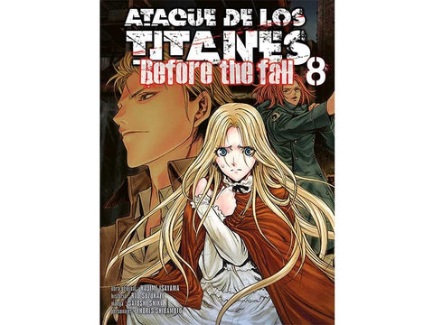 ATTACK ON TITAN BEFORE THE FALL N.8