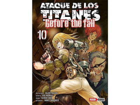ATTACK ON TITAN BEFORE THE FALL N.10