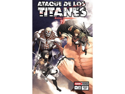 ATTACK ON TITAN N.19