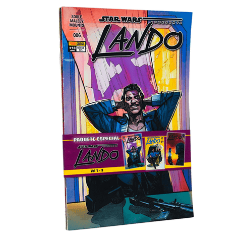STAR WARS PRESENTA - PACK LANDO