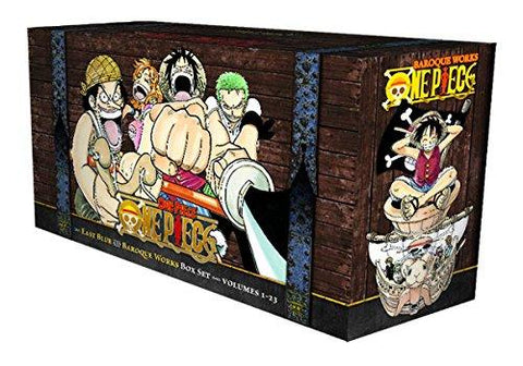 ONE PIECE BOX SET (1-23) INGLES