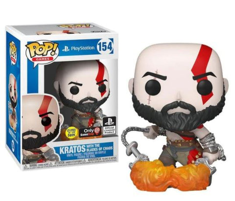 Funko  Kratos 154 Exclusive Game Stop