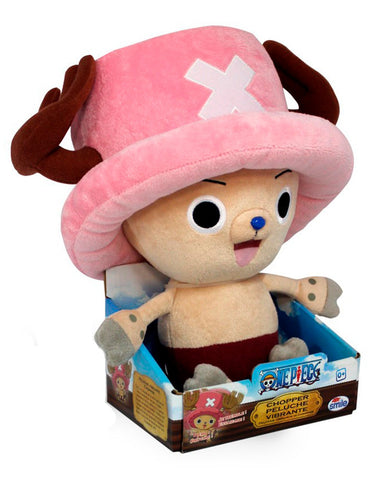 Peluche  Tony Tony Chopper One Piece vibrante