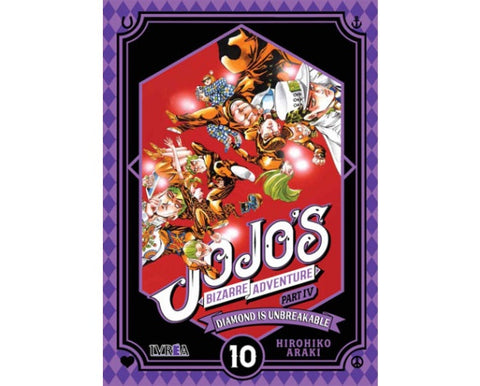 JOJO'S BIZARRE ADVENTURE. PARTE 4: DIAMOND IS UNBREAKABLE 10 EUROPA