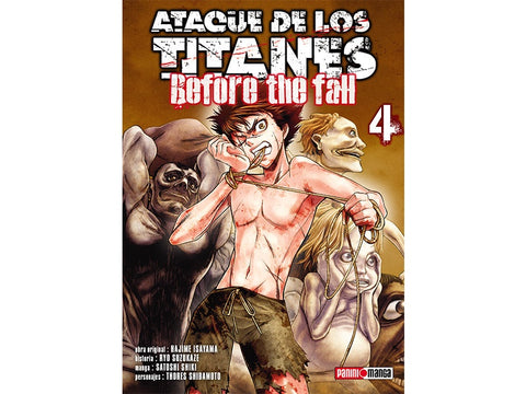 ATTACK ON TITAN BEFORE THE FALL N.4