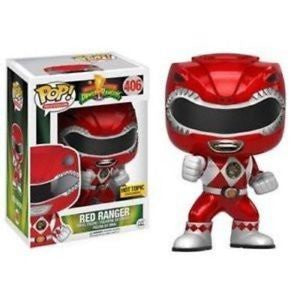Funko Red Ranger 406 Hot Topic