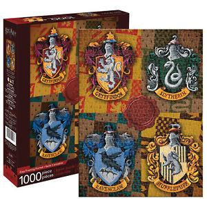 Harry Potter House Crests 1,000-Piece Puzzle