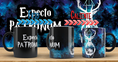 Taza Magica Harry Potter 006