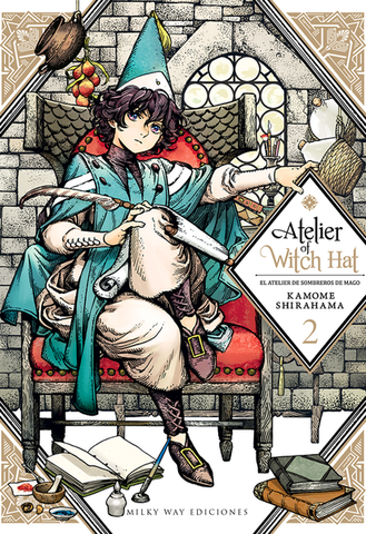 ATELIER OF THE WITCH HAT N.2 EUROPA