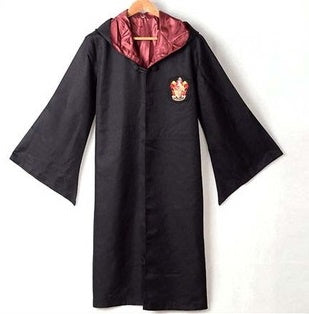 HArry Potter capa rojo griffindor L