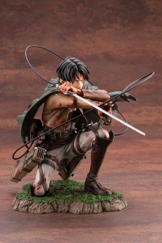 Preventa Attack On Titan Artfx J Levi Fortitude Ver.