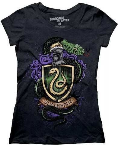 Mujer Slytherin Gris obscuro M