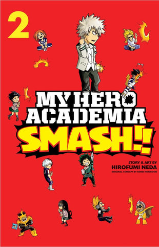 MY HERO ACADEMIA SMASH 2 INGLES