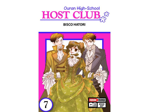 OURAN HIGH SCHOOL HOST CLUB N.7
