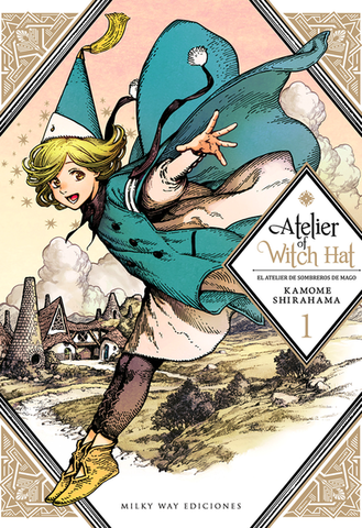 ATELIER OF THE WITCH HAT N.1 EUROPA
