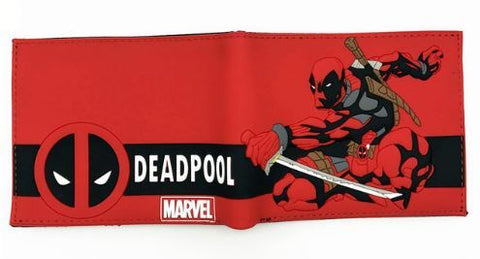 Cartera Deadpool Roja