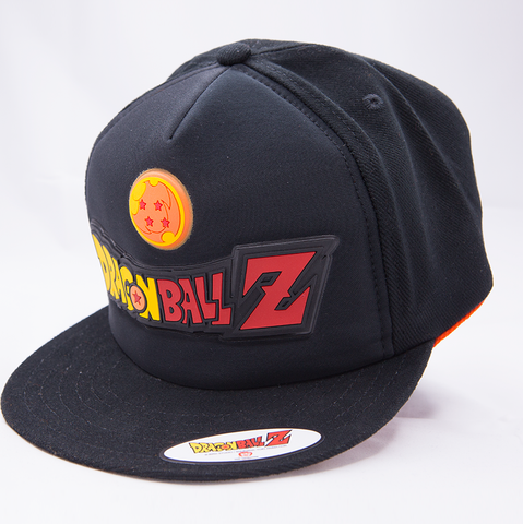 Gorra Dragon Ball Dragon Ball Z Negra con Logo
