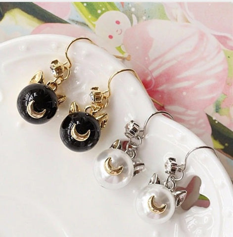 Aretes Sailor Moon Luna