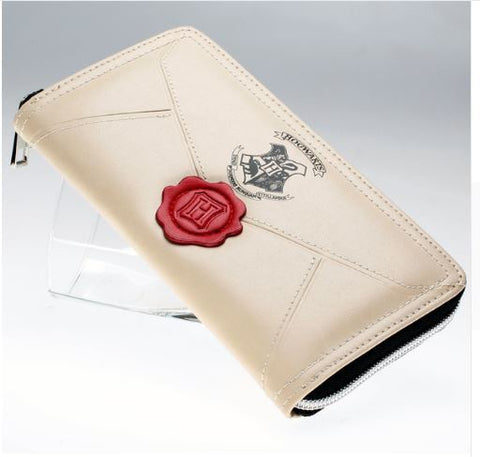 Cartera Piel Harry Potter Carta