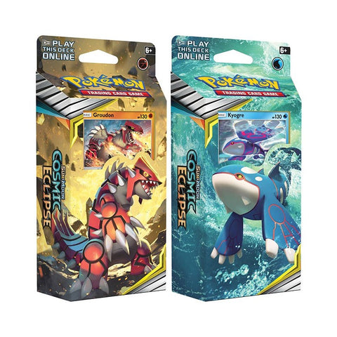 Pokemon Sun and moon Deck Eclipse Cosmico