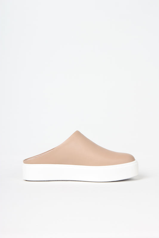 Clean cut Swedish design from ANNY NORD:  No seems. No frills. No heel.