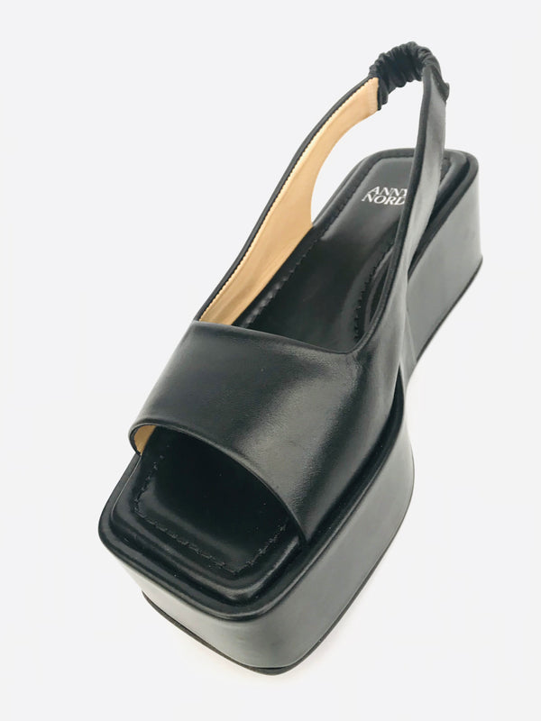 ANNY NORD - LEVEL UP slingback black -angle