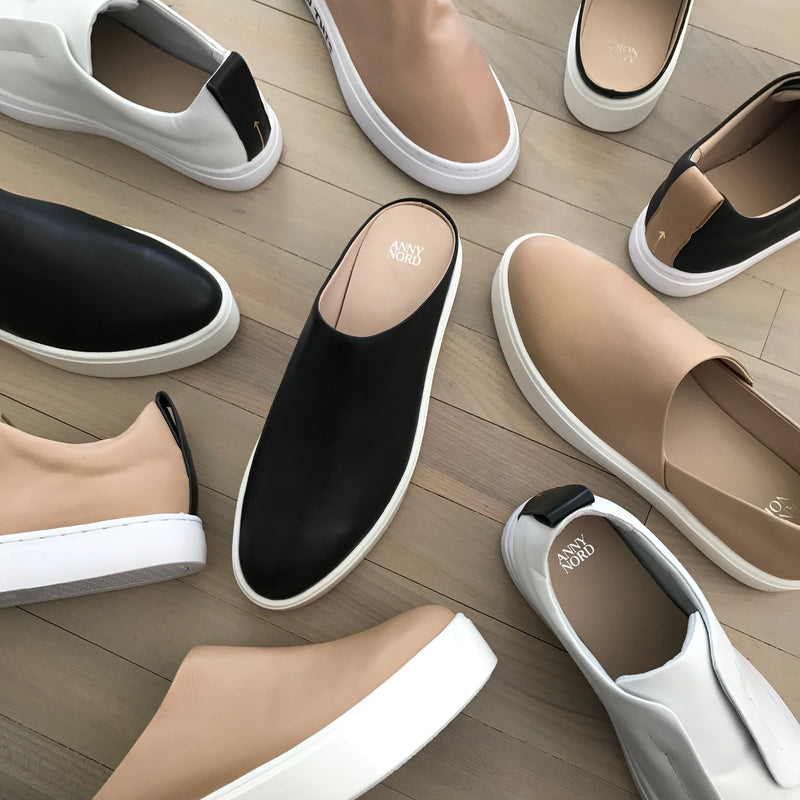 Minimalist sneakers from ANNY NORD.