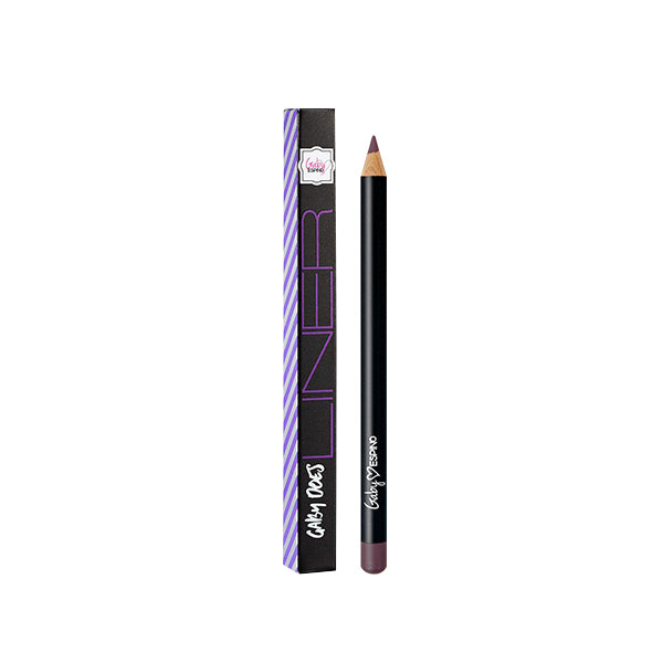 Black Plum lip liner by Gaby Espino