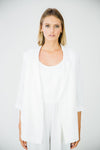The Linen Everyday Blazer-White