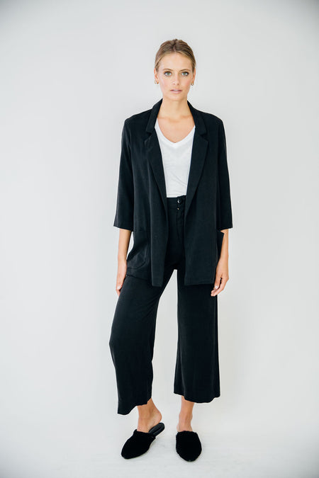 The Everyday Blazer-Black