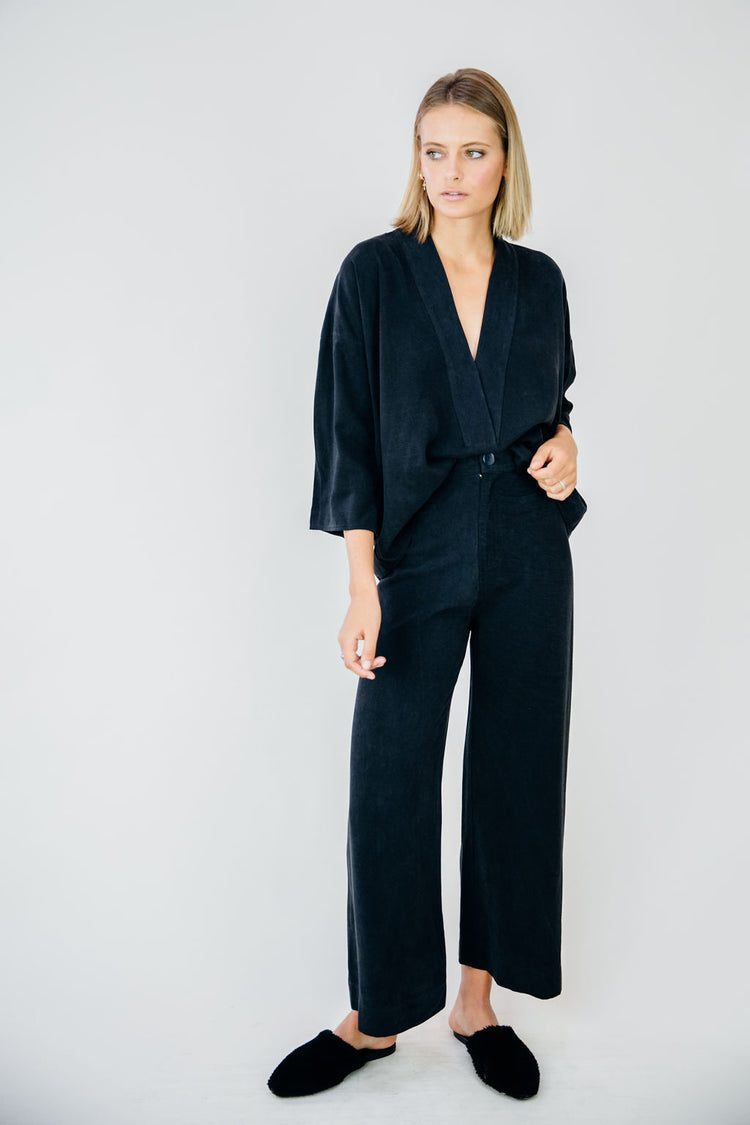 The Everyday Trouser-Midnight Navy