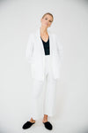 The Everyday Blazer-White