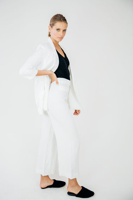 The Everyday Trouser-White