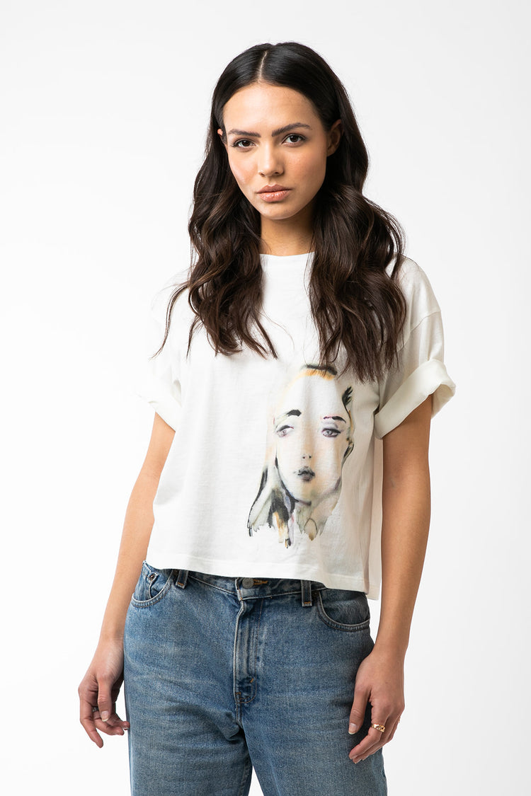 Kim McCarty Graphic Tee- Big Face