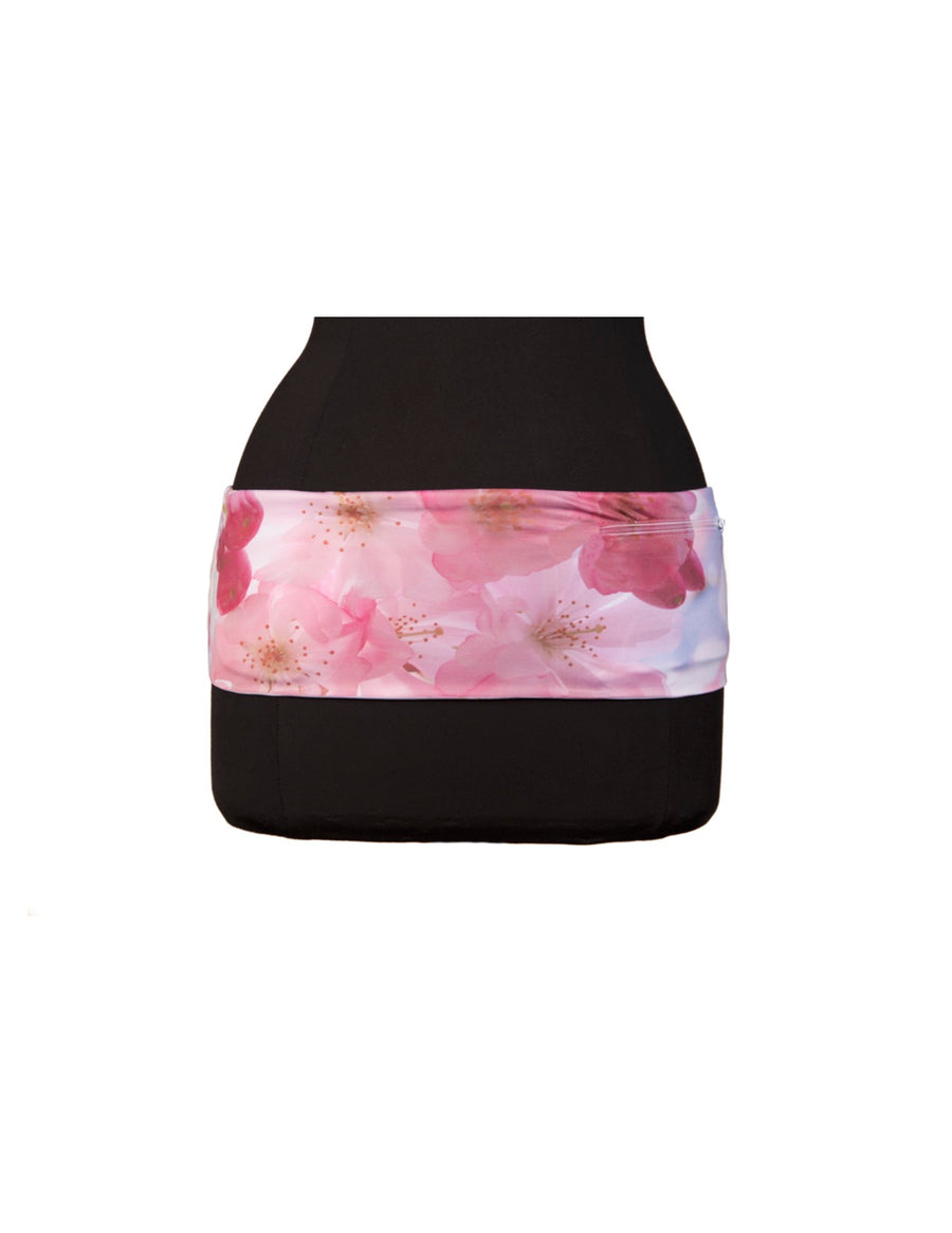 Cherry Blossom Print Left Coast hipS-sister Waist Band
