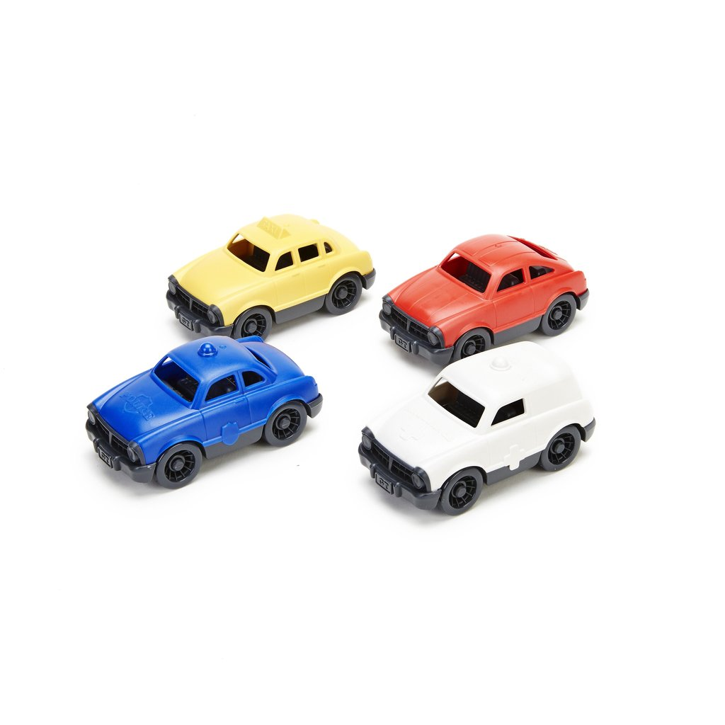 Green Toys Mini Vehicle 4-Pack Set