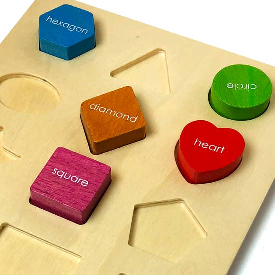 Basic Shape Sorter 12 Piece Puzzle
