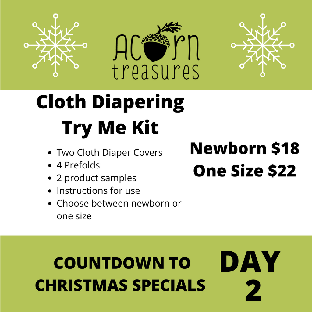 Cloth Diapering Try Me Kit