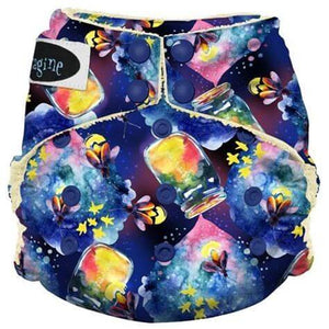 Imagine One Size Snap Stay Dry All in One Cloth Diaper