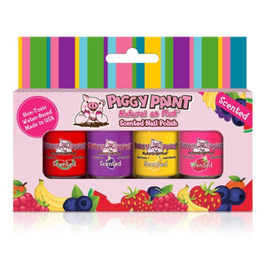 Scented Silly Unicorns Piggy Paint Mini Nail Polish Set of 4