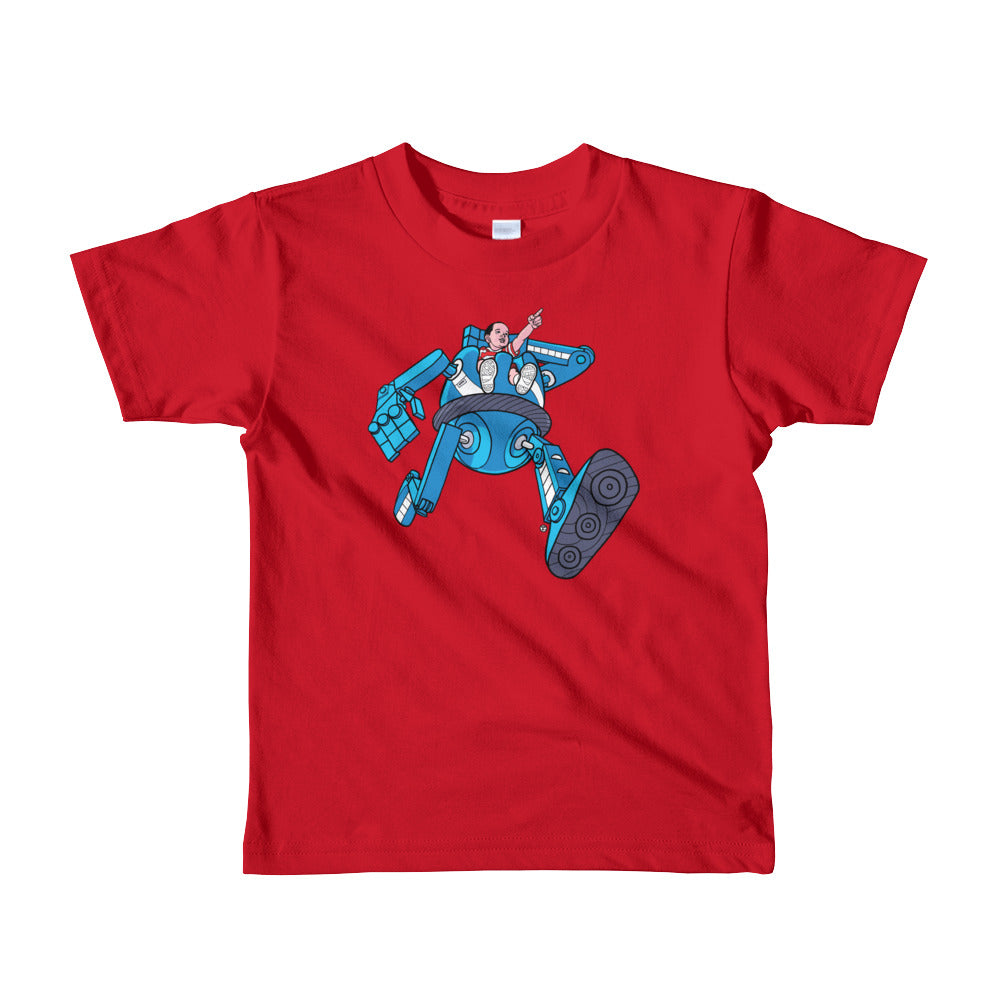 Robot Ride Little Kid Tee