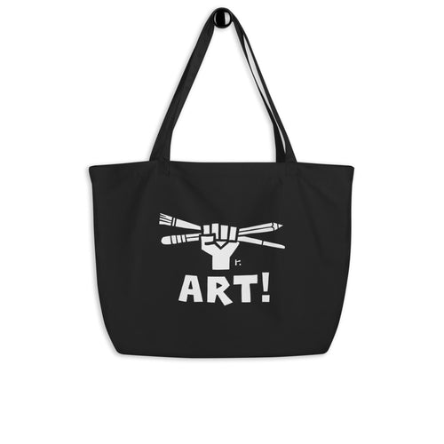 Art! Large Tote Bag